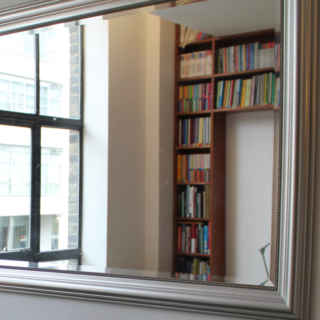 Islington town house view in mirror after