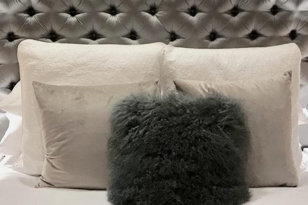 Islington maisonette basement bed cushions