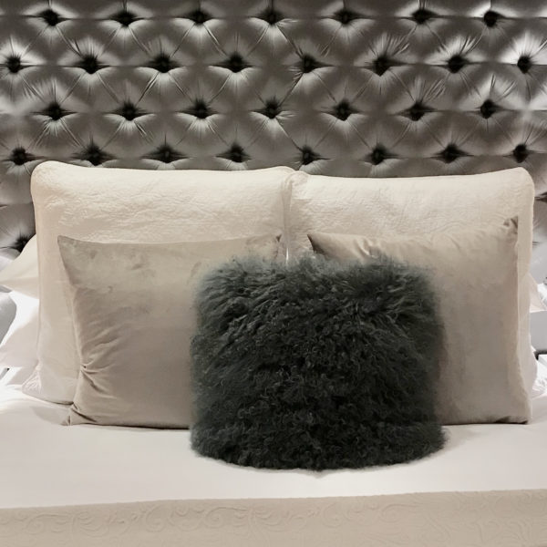 Islington maisonette basement bed cushions