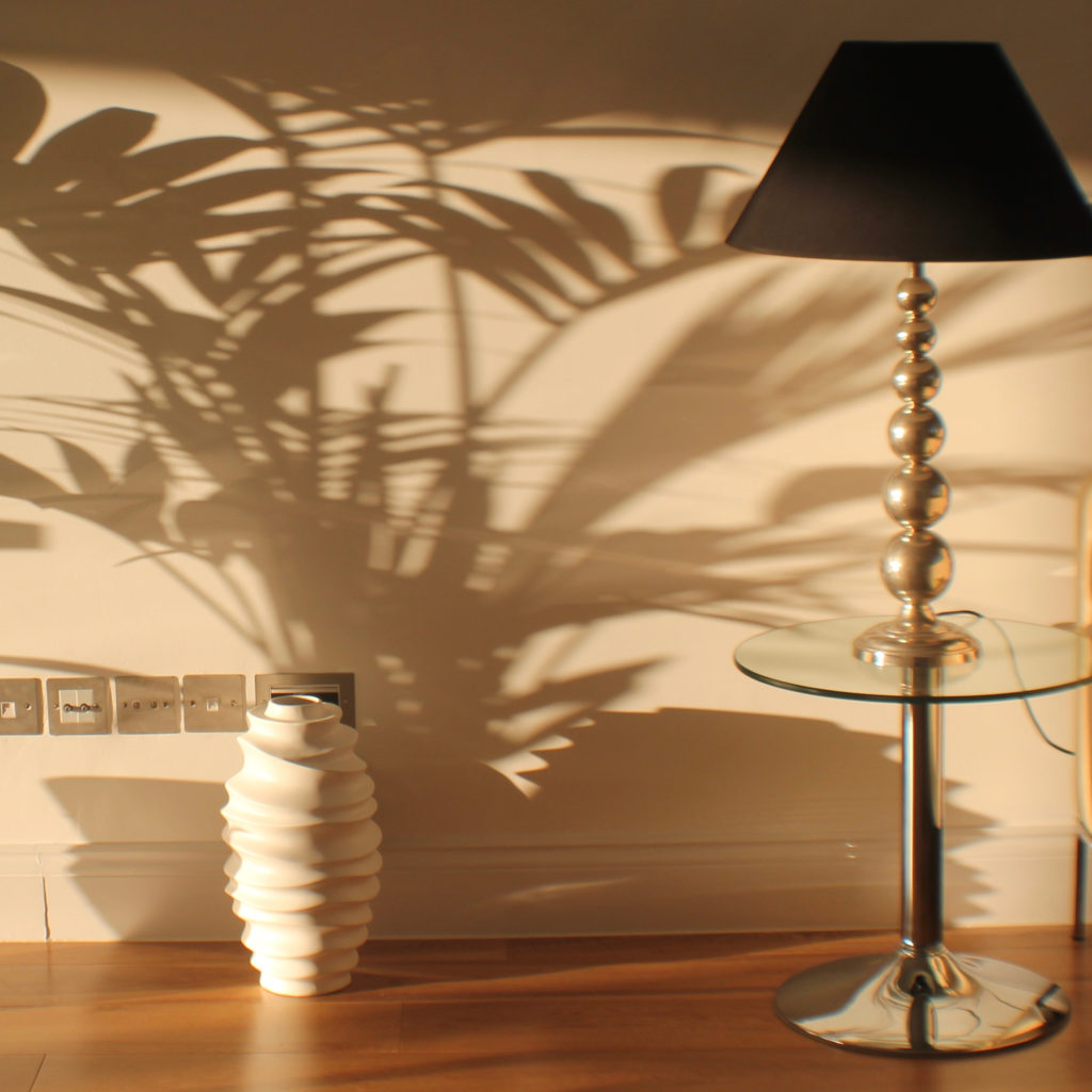 Muswell Hill lamp and floor vase