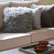 Islington maisonette sofa cushions