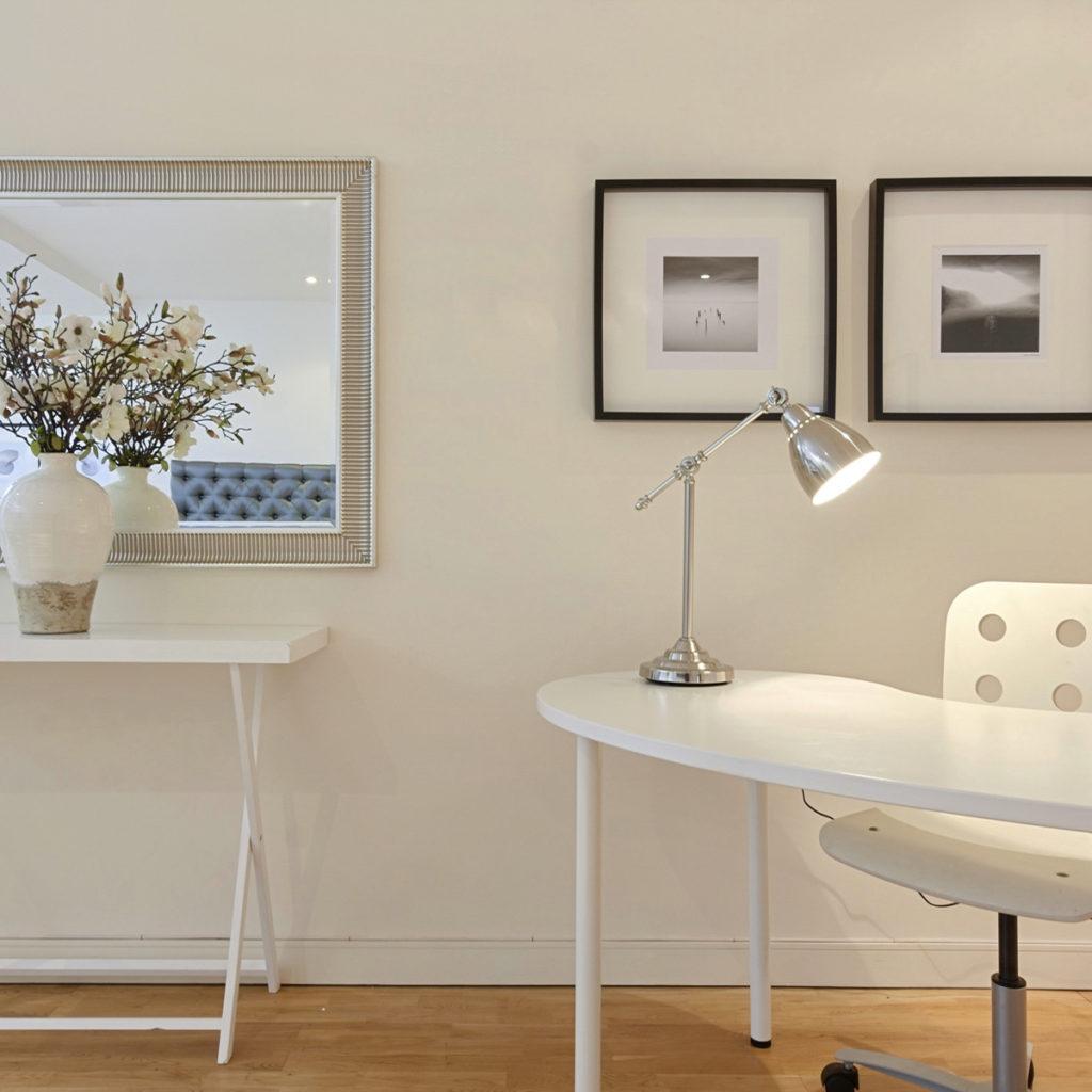 Islington maisonette console and desk