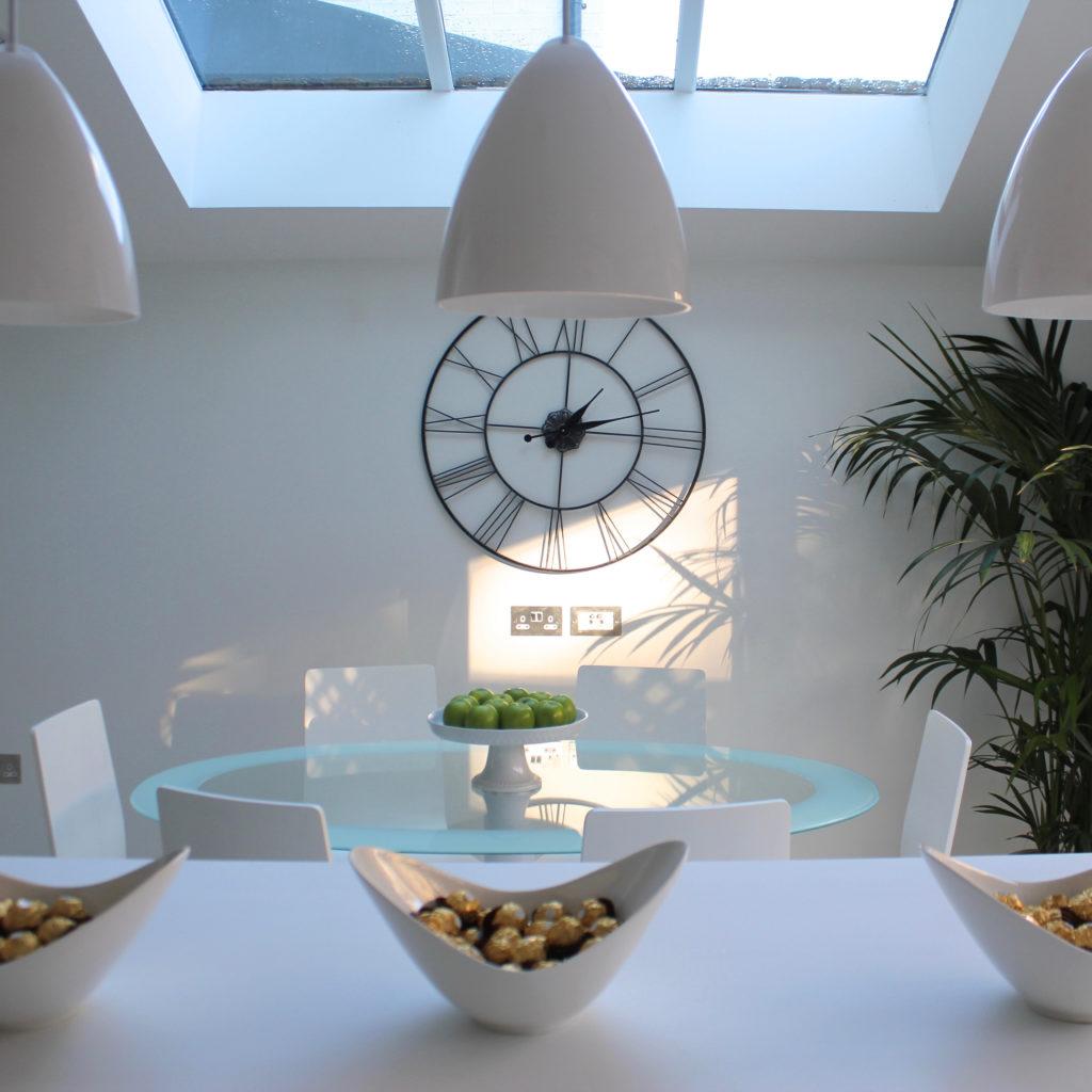 Drayton Park kitchen and clock