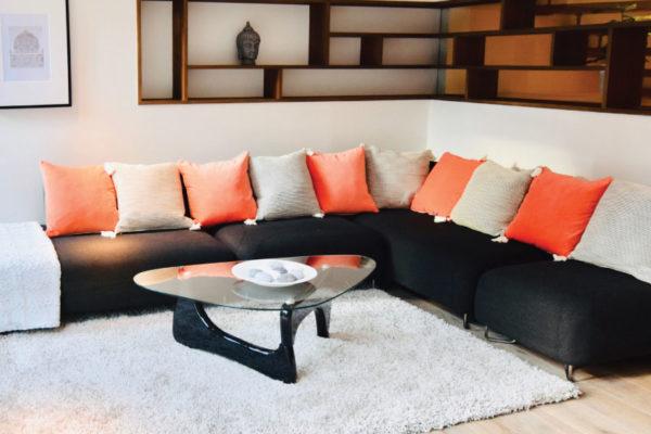 Decluttering ex-rental highgate house