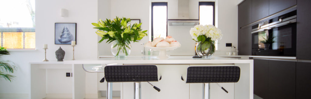 Crouch End show home kitchen
