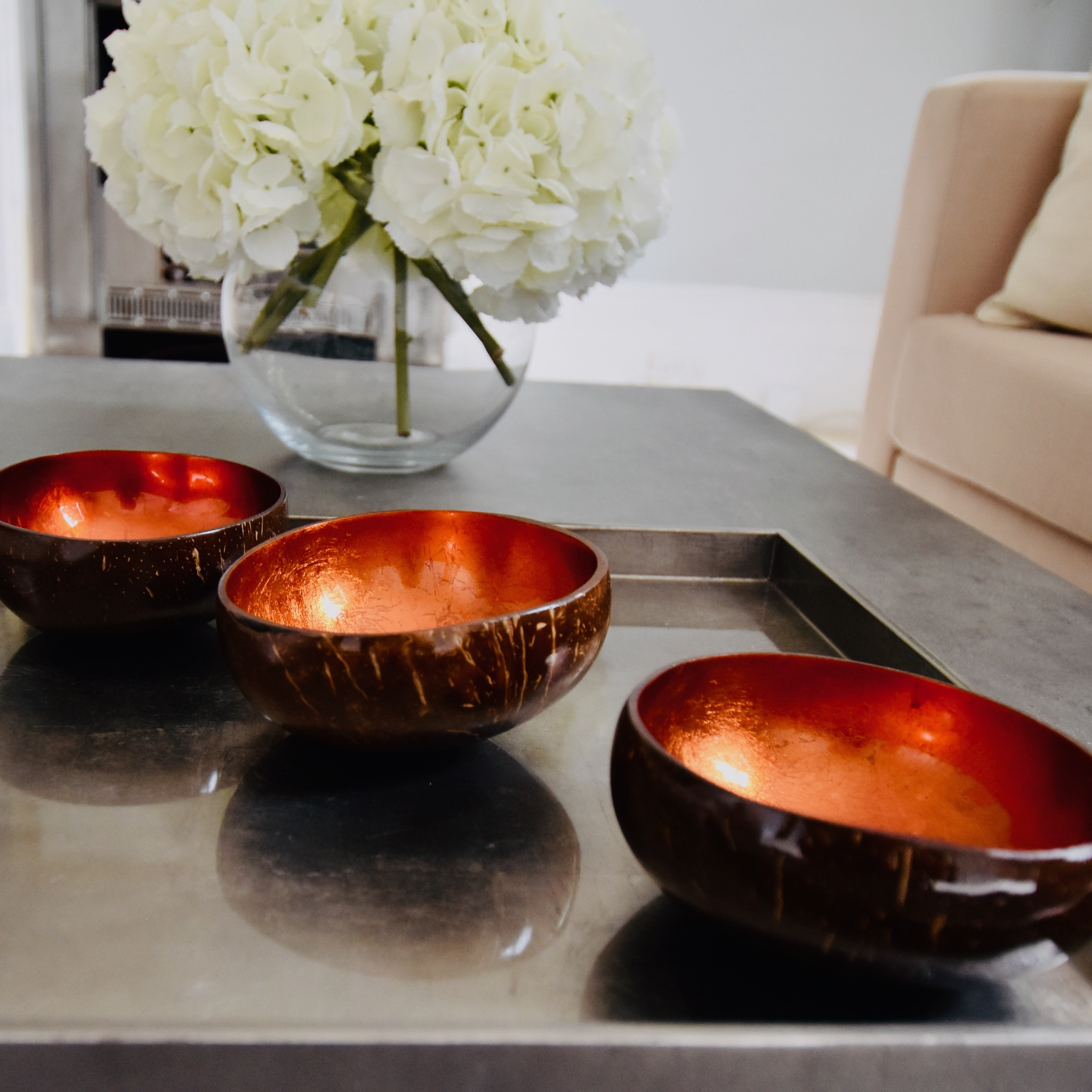 Staged Coffee Table